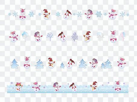 Line _ Snowman 02