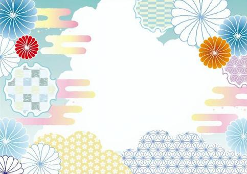 Japanese Pattern Background 2