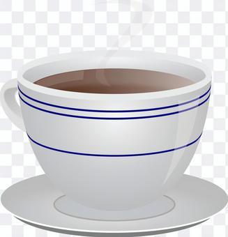 Coffee deep roasted medium roasted