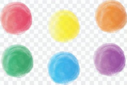 五顏六色的小熊愛輪對象