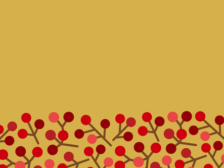 가을 프레임 (열매)