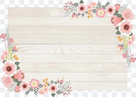 Flower decoration frame 7