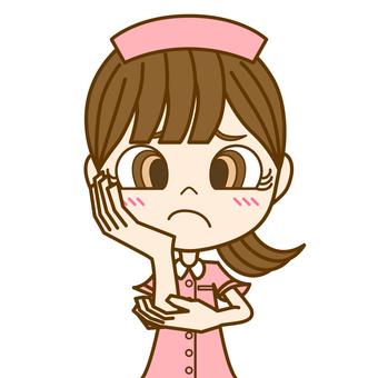 擔心的女人①/護士