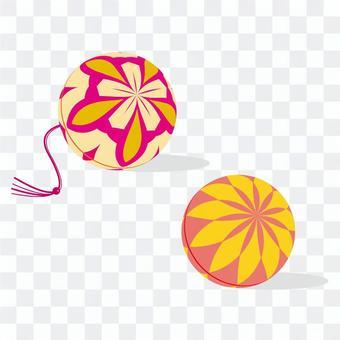 Simple illustration _ Temari 2