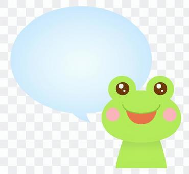 ふきだし コメント カエル 蛙