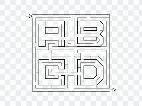迷路ABCD