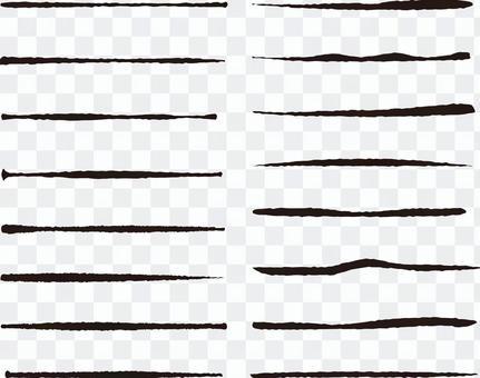 手寫風格美術筆刷素材集