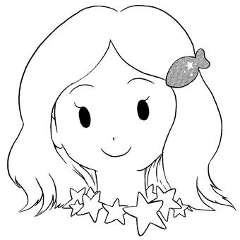 Pisces-pen drawing