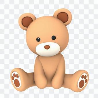 熊填充动漫角色020