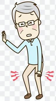 膝蓋的老人傷害2-2