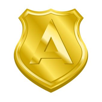 A rank medal emblem