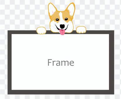 柯基犬圖片框架