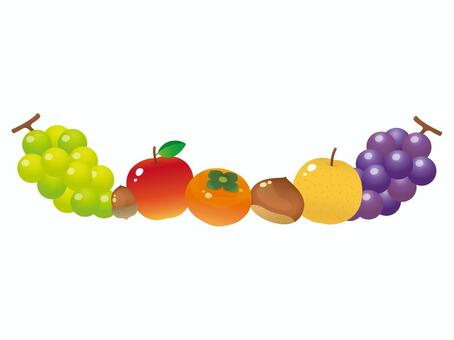 有光澤的水果