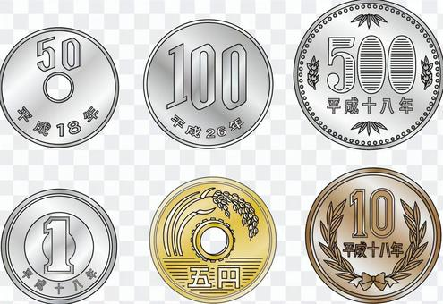 20160706所有的硬幣