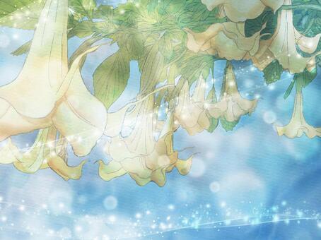 閃閃發光的水彩小號(黃色)