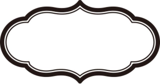 框架材料橢圓形狀