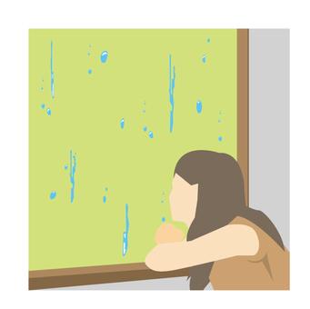 Melancholy rain