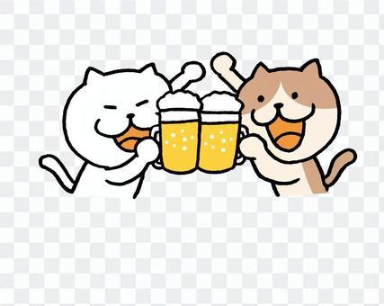 乾杯敬酒!