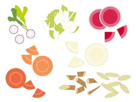冬菜各種切法