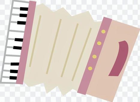 粉紅色的手風琴