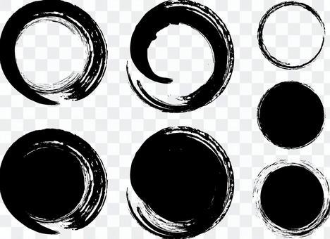 20160822粗糙的筆刷粗黑