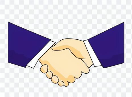 商人的握手