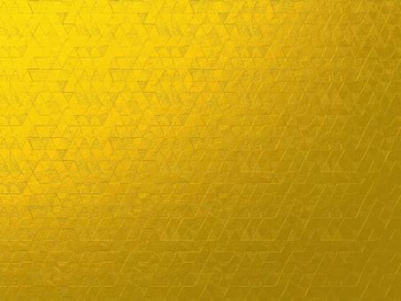 3d 金色 三角形 幾何学模様 背景