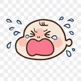 江恩哭泣的嬰兒(沒有手)