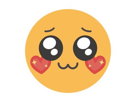 Uruuru Smile Emoji Free Material