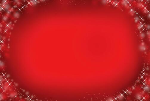 紅色和閃光