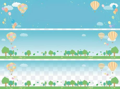 氣球橫幅集