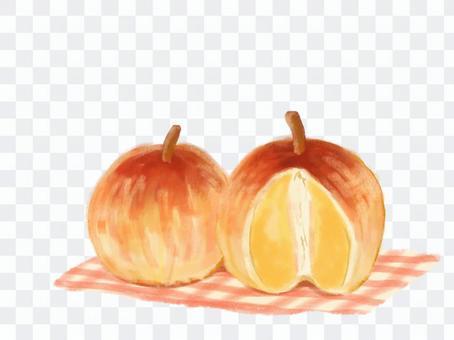 丸ごとりんごのパイ