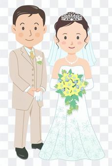 婚禮婚禮情侶圖