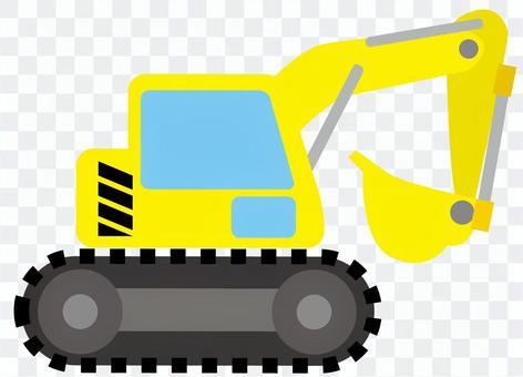 Shovel car