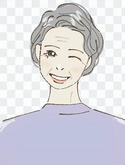 Female D (wink)