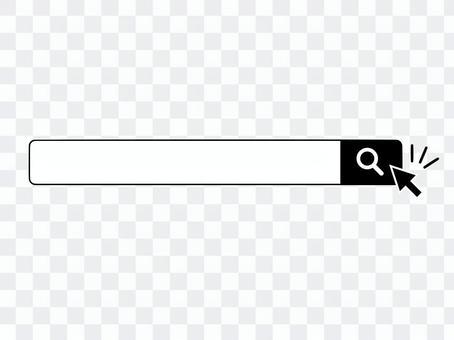 搜索窗口搜索栏搜索放大镜箭头
