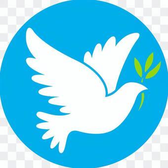 和平_鴿子圖標_