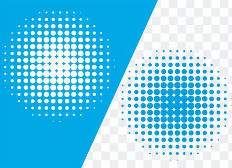 Dot pattern blue