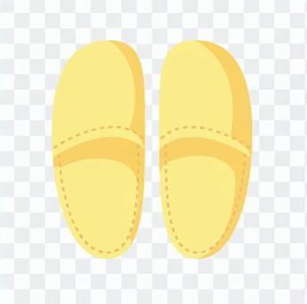拖鞋(黃色)