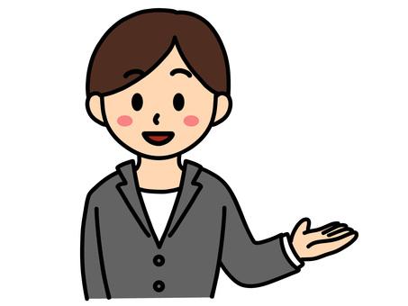 商務人士/女士/短髮