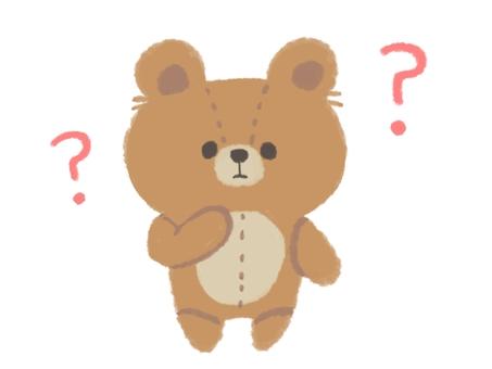 泰迪熊疑惑