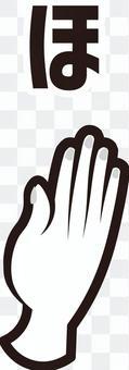 手指拼寫(手語)
