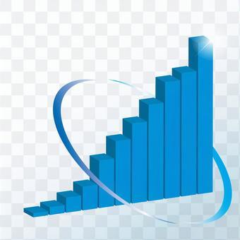Right-facing upward graph 3