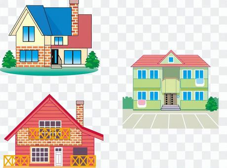 House, apartment
