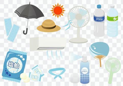 中暑對策商品安排