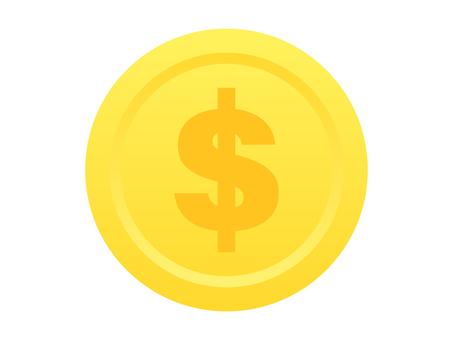 美元馬克硬幣