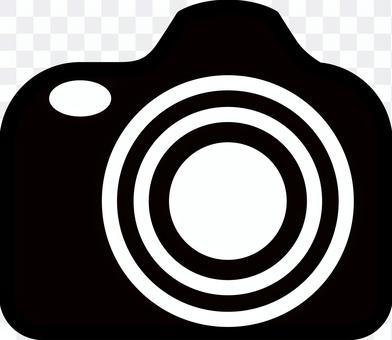 數碼單鏡頭相機圖標標記