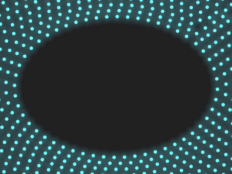 照明橢圓框 B: 藍色