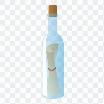 瓶包含字母