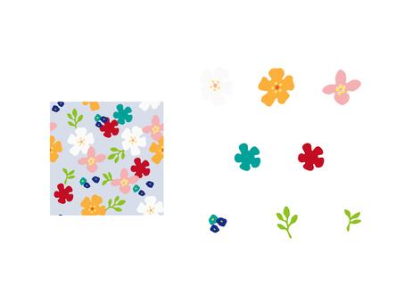 꽃 무늬 세트 2